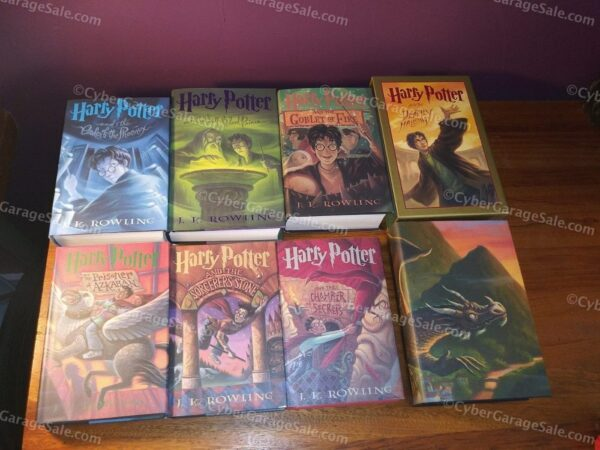 Harry Potter Hard Cover Books - Books 1-7 - Free Shipping!