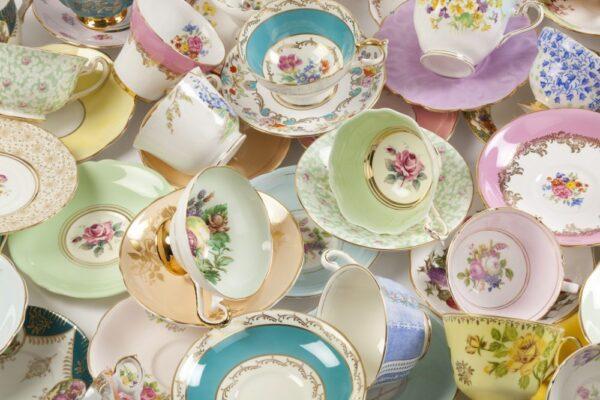 Ceramic, China, Glass, Porcelain, & Pottery