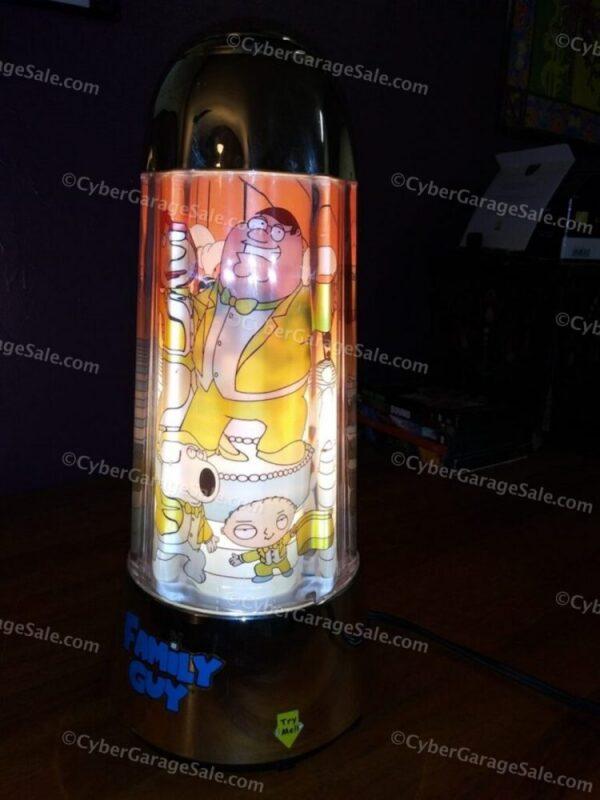 Family Guy Revolving Electric Light - Up Motion Lamp