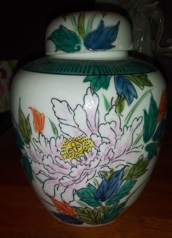 Small Japanese Ginger Jar