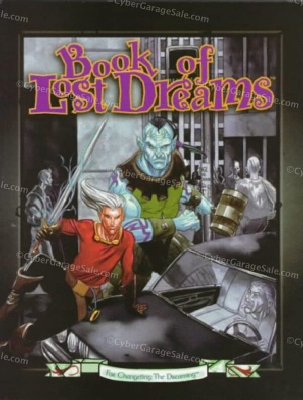 Book of Lost Dreams (Changeling: The Dreaming)