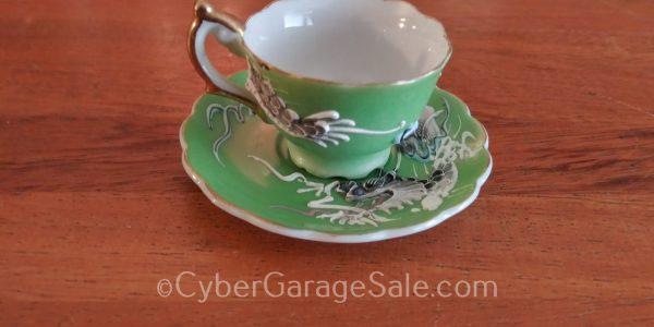 Tiny Dragonware Tea Cup
