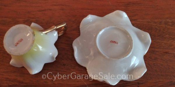 Miniature Miami Florida Tea Cup and Saucer - Made in Japan