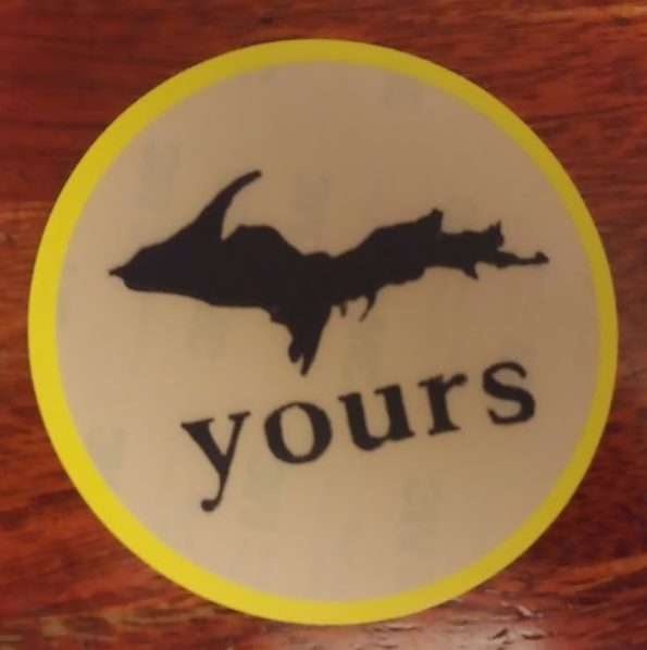 UP Yours Sticker