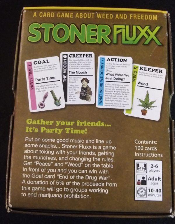 Used Stoner Fluxx Card Game