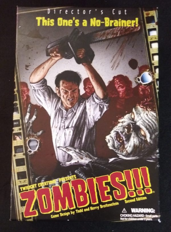Twilight Creations Presents ZOMBIES!!! Director's Cut Second Edition Board Game