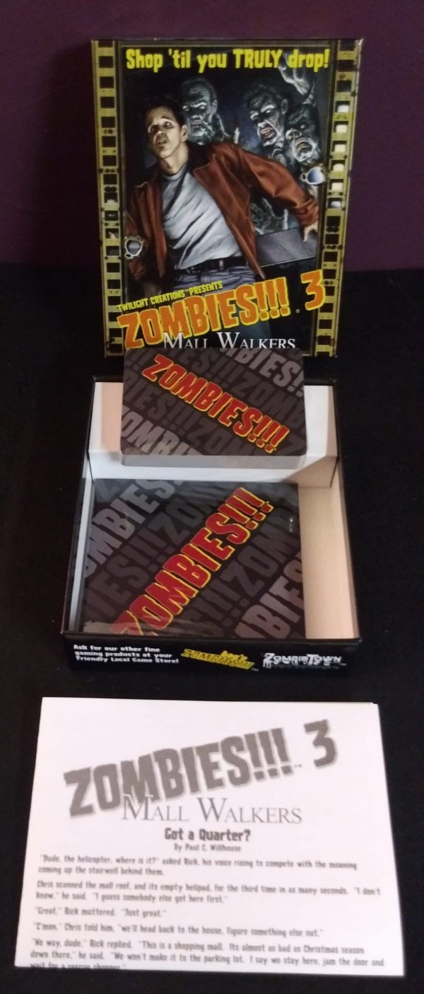 Zombies!!! 3 - Mall Walkers Board Game