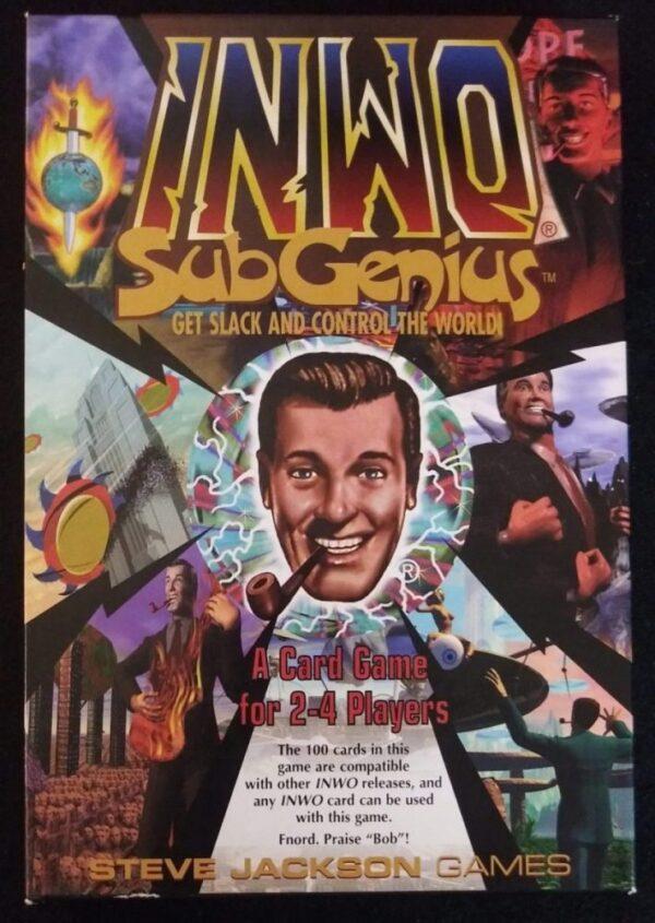 Steve Jackson Games - INWO SubGenius Expansion Card Game - 1998 - NM