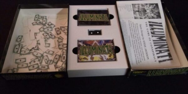 1998 Illuminati The Game of Conspiracy Deluxe Edition by Steve Jackson Games
