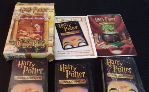 Harry Potter Trading Card Game Diagon Alley Two-Player Starter Set Complete + extra 45 card set