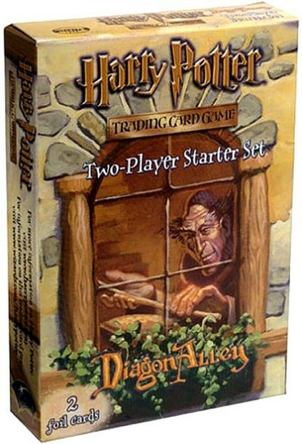 Harry Potter Trading Card Game Diagon Alley Two-Player Starter Set Complete